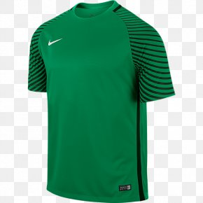T-shirt - T-shirt Jersey Goalkeeper Sleeve Nike PNG