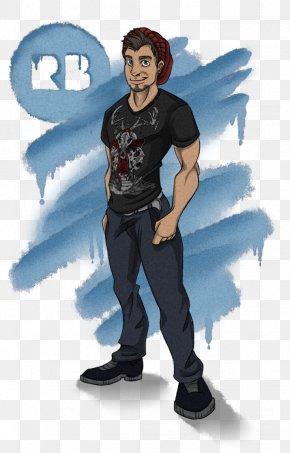T-shirt - Outerwear T-shirt Cartoon Character PNG