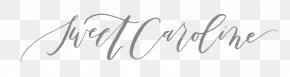 Sweet Caroline Logo Calligraphy Oenobiol Art PNG