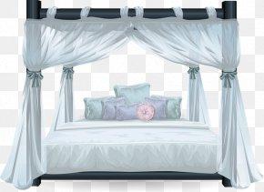 Elegant Princess Bed - Bed Size Mattress Pillow Bedroom PNG