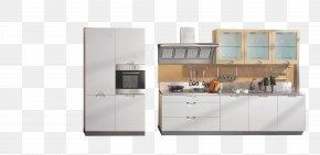 Refrigerator Cabinets - Door Kitchen Cabinet Furniture Polyvinyl Chloride PNG