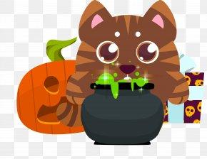 Cute Animal Halloween Costume Vector Design - Halloween Costume Disguise Clip Art PNG