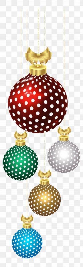 Christmas Balls Decoration Clip Art Image - Rudolph Christmas Clip Art PNG