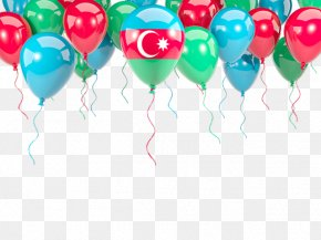 Flag Of Azerbaijan - Stock Photography Framing Balloon Picture Frames Royalty-free PNG