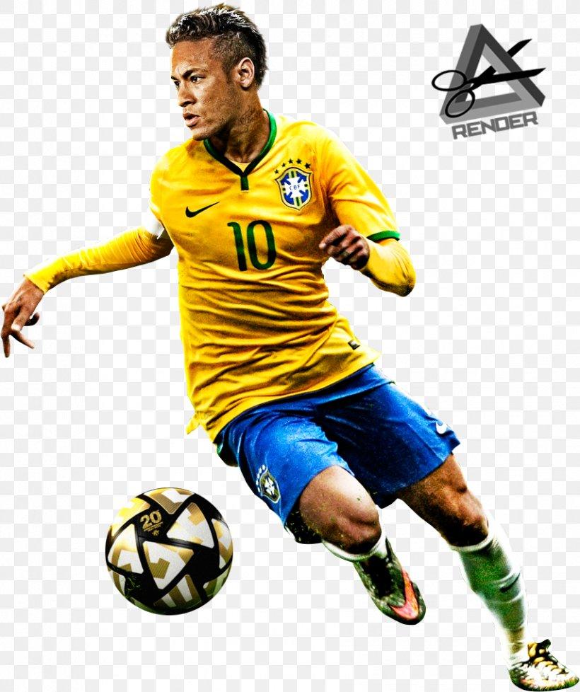 Neymar Paris Saint-Germain F.C. FC Barcelona Brazil National Football Team, PNG, 854x1019px, Neymar, Ball, Brazil National Football Team, Fc Barcelona, Football Download Free