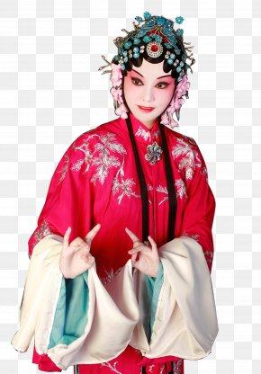 Peking Opera Xiao Dan - Budaya Tionghoa Chinese Opera Peking Opera Chinoiserie PNG