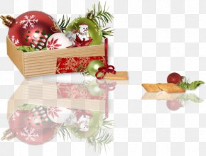 Christmas Decoration Holiday Ornament - Christmas And New Year Background PNG