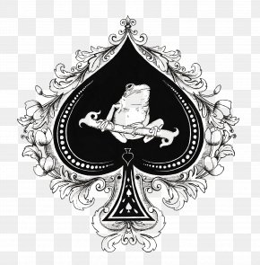 Ace Of Spades - Ace Of Spades Playing Card Espadas Pikmin 2 PNG