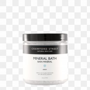 Sulfate Minerals - Natural Skin Care Cream Facial Cosmetics PNG