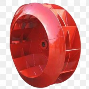Red Exhaust Equipment Wind Turbine Fan - Impeller Centrifuge Centrifugal Fan Wind PNG