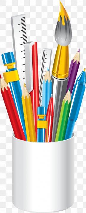 Photos Of School Supplies - School Supplies Colored Pencil Clip Art PNG