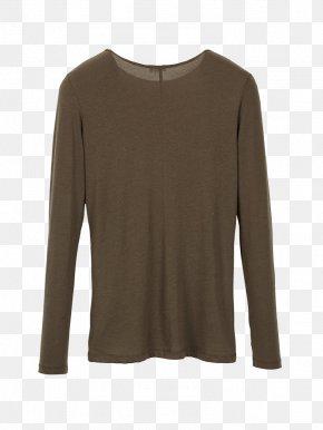 T-shirt - T-shirt Sleeve Sweater Neckline Fashion PNG