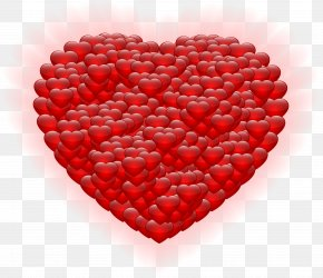 Shining Heart PNG Clipart - Heart Valentine's Day Clip Art PNG