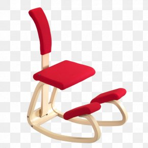 Chair - Kneeling Chair Varier Furniture AS Office & Desk Chairs Pillow PNG
