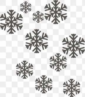 Creative Snowflake Background - Christmas Snowflake Icon PNG