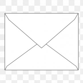 Envelopes Pictures - Paper White Triangle Area PNG