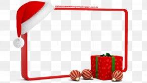 MOLDURA - Santa Claus Christmas Picture Frames Gift Clip Art PNG