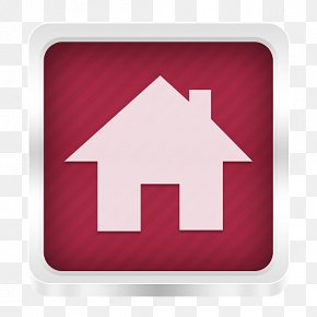 Red Home - Home Page The Noun Project Icon PNG