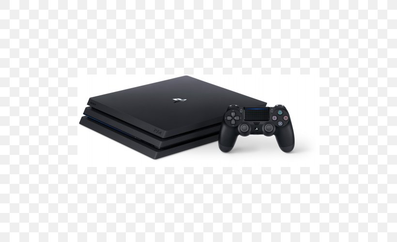 Sony PlayStation 4 Pro Video Game Consoles Sony PlayStation 4 Slim, PNG, 500x500px, 4k Resolution, Sony Playstation 4 Pro, Dualshock, Dualshock 4, Electronics Download Free
