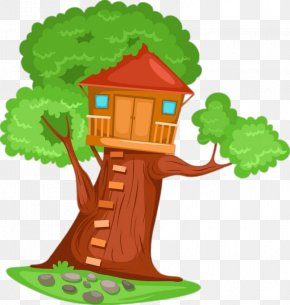 House - Tree House Clip Art PNG