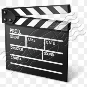 Clapper Board Clip Art - Clapperboard Film Director PNG