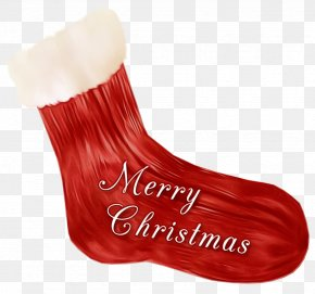 Shoe Fur - Christmas Stocking PNG