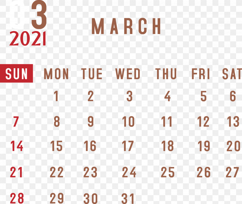 March 2021 Monthly Calendar March 2021 Printable Calendar 2021 Monthly Calendar, PNG, 3000x2525px, 2021 Monthly Calendar, March 2021 Monthly Calendar, Angle, Area, Calendar System Download Free