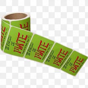 Label Material - Paper Label Printer Printing PNG