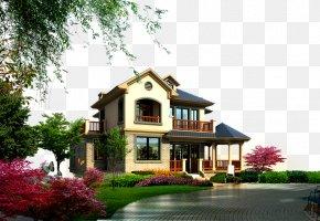 Property Villa - Landscape Garden PNG