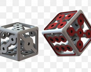 Dice - GrabCAD 3D Printing Computer-aided Design 3D Computer Graphics PNG