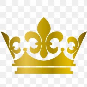 Golden Crown - Cartoon Clip Art PNG