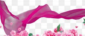 Romantic Pink - Pink Ribbon PNG
