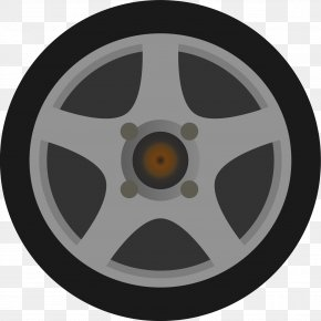 Car Wheel - Car Rim Wheel Clip Art PNG