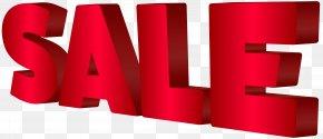 Sale Red Transparent Clip Art Image - Discounts And Allowances Sales Promotion Clip Art PNG