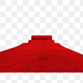 Red Carpet - Red Textile Pattern PNG