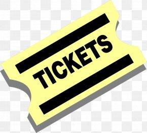 Ticket Cliparts - Ticket Raffle Cinema Clip Art PNG