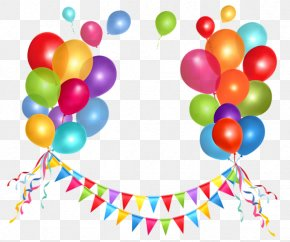 Birthday Decoration Cliparts - Party Free Content Clip Art PNG