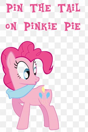 Pin The Tail On The Horse - Pinkie Pie Pony Rainbow Dash Pin The Tail On The Donkey Piñata PNG