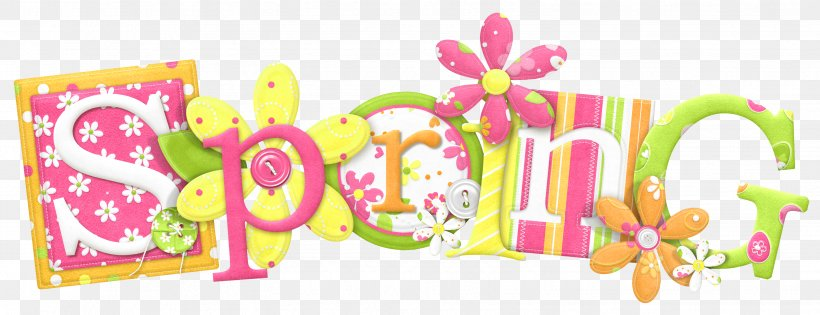Spring Text, PNG, 3092x1189px, Spring, Animation, Blog, Easter Egg, Pink Download Free