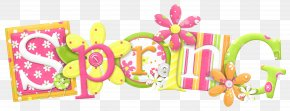 Spring Word - Spring Text PNG