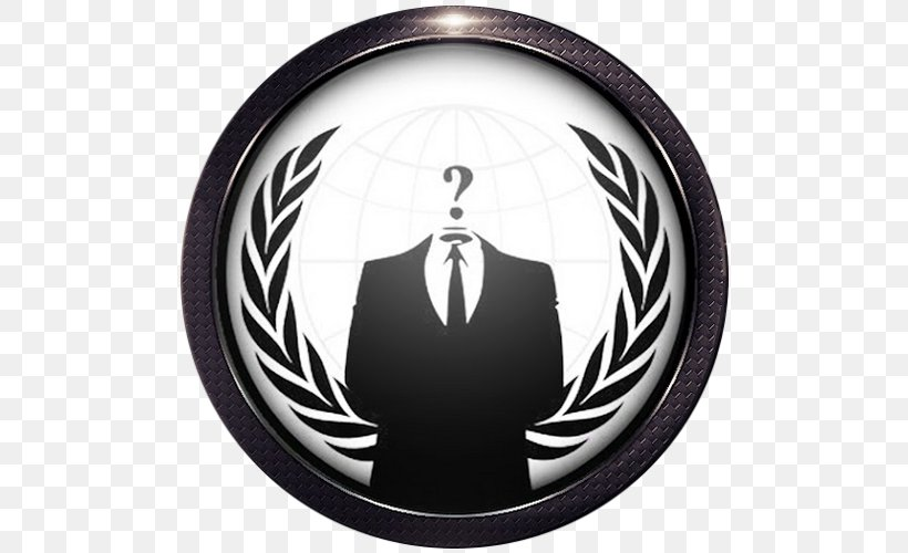 Anonymous Desktop Wallpaper Anonymity Security Hacker, PNG, 500x500px, Anonymous, Android, Anonymity, Automotive Tire, Brand Download Free