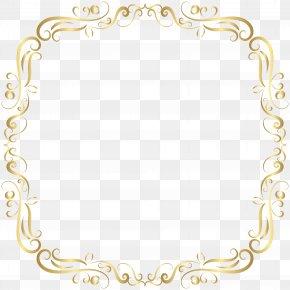 Border Frame Decor Clip Art Image - Public Key Certificate Icon PNG