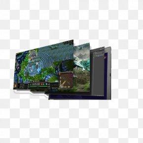 Notebook - Display Device Display Advertising Brand Multimedia PNG