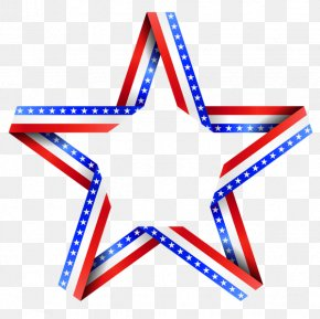 America Stars Cliparts - Flag Of The United States Star Clip Art PNG