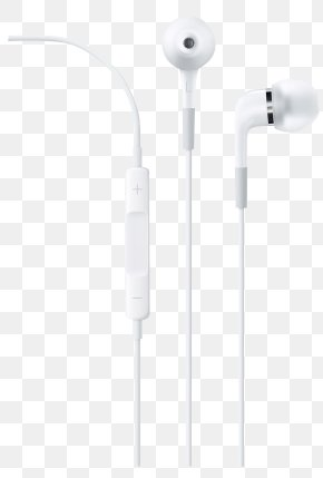 Apple Earbuds - Apple In-Ear Headphones Microphone Audio Apple Earbuds PNG