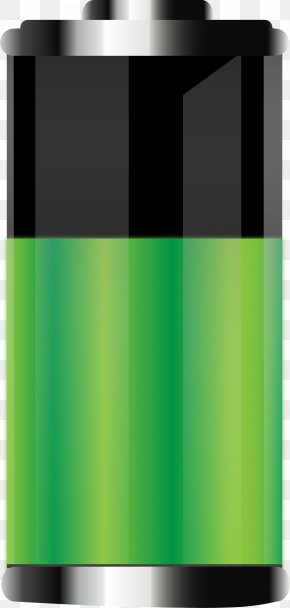 Green Battery - Battery Download Icon PNG