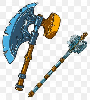 Stick Ice Ax - Axe Clip Art PNG