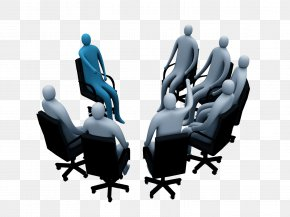 The Meeting Discussed - Microsoft PowerPoint 3D Computer Graphics 3D Rendering Wallpaper PNG