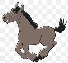 Cartoon Horse - Horse Free Content Pony Clip Art PNG