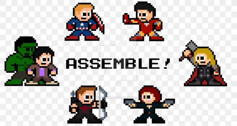 Pixel Art Avengers Marvel Comics Png 1024x546px 8bit